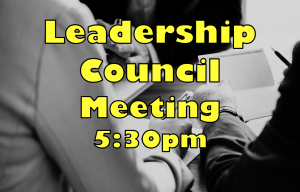 Leadership Council Meeting