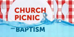 Church Picnic & Baptisms