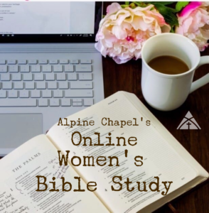Women's Bible Study - S.A.L.T. @ The Alpine Chapel