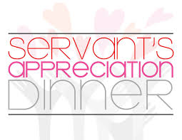 Servant Appreciation Dinner @ The Alpine Chapel
