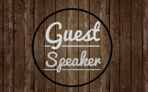 Sunday Message: Special Speaker