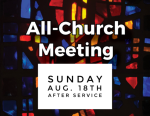 All Church Meeting
