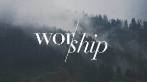 SPECIAL WORSHIP SERVICE!