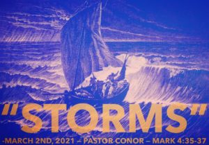 "May 2nd Message: ""Storms"""